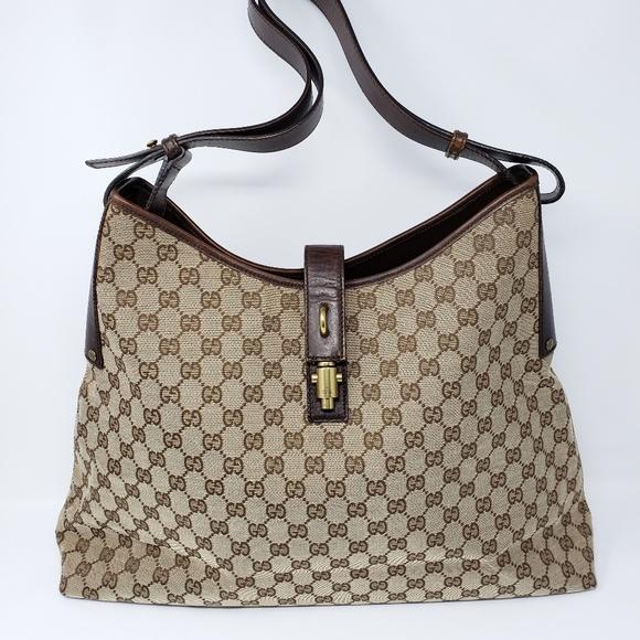 b8eb5bdefe88 Gucci Bags   100 Auth Canvas Large Tote Bag   Poshmark
